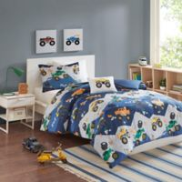 Mi Zone Kids Nash Reversible Full/Queen Comforter Set in Blue