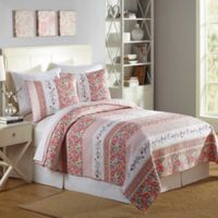 Mary Jane's Home Bright Blooms King Quilt