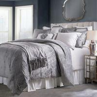 HiEnd Accents Diane Queen Comforter Set in Grey