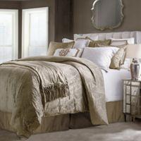 HiEnd Accents Diane Queen Comforter Set in Oatmeal
