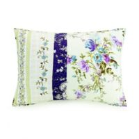 Mary Jane's Home Collected Wildflowers Standard Pillow Sham in Purple
