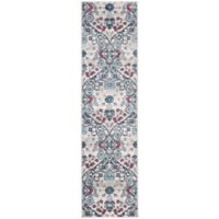 Safavieh Brentwood Ziba 2' x 8' Runner in Navy