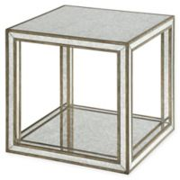 Uttermost Julie Mirrored Accent Table in Silver