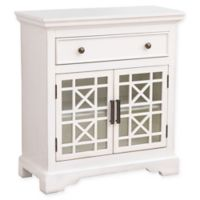Abbyson Living Chase Entryway Storage Cabinet in Ivory