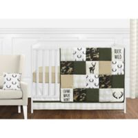 Sweet Jojo Designs Woodland Camo 11-Piece Crib Bedding Set