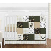 Sweet Jojo Designs Woodland Camo 4-Piece Crib Bedding Set