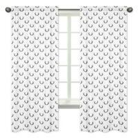 Sweet Jojo Designs Woodland Camo Antler 84-Inch Rod Pocket Window Curtain Panels (Set of 2)