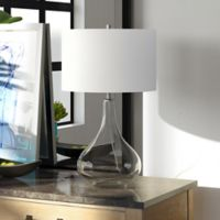 Hudson&canal Mirabella Table Lamp in Clear