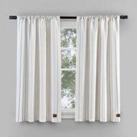 UGG® Skye Striped 35-Inch Rod Pocket Window Panels in Green (Set of 2)