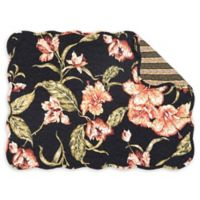 C&F Home Aubree Placemats in Black (Set of 6)
