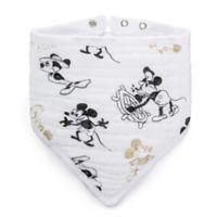 aden + anais® Disney® 90th Collection Mickey Mouse Bandana Bib in Gold