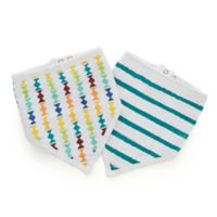 aden® by aden + anais® 2-Pack Going Bananas Bandana Bibs