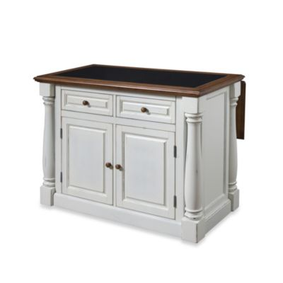 Buy Home Styles The Orleans Kitchen Island With Marble Top