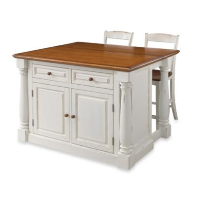 buy kitchen island with stools from bed bath & beyond