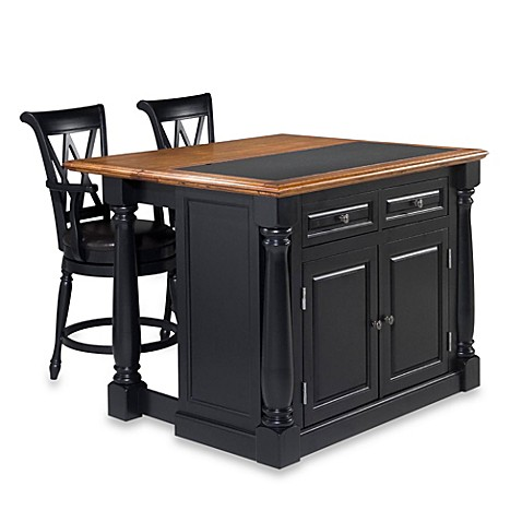 home styles monarch kitchen island buy home styles monarch 3 kitchen island with 24121
