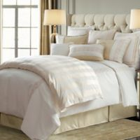 HiEnd Accents Hollywood King Comforter Set in Cream