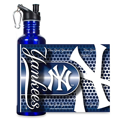 New York Yankees Stainless Steel Water Bottle