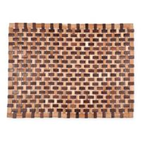 Buy Wood Outdoor Mat From Bed Bath Amp Beyond