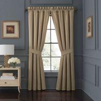 Waterford® Jonet 84-Inch Rod Pocket Window Curtain Panel Pair in Spice