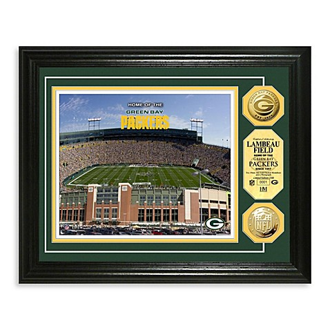 Green Bay Packers NFL® Stadium Gold Coin Photo Mint