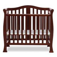 Dream On Me Naples 4-In-1 Convertible Mini Crib in Espresso