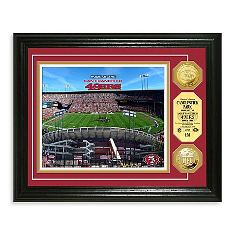 San Francisco 49ers NFL® Stadium Gold Coin Photo Mint