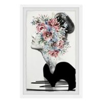 "Marmont Hill 16"" x 24"" Flower Crown Framed Wall Art"