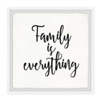 Marmont Hill Family Is All 32-Inch Squared Framed Wall Art