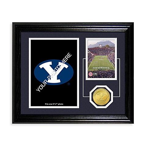 Brigham Young University Fan Memories Desktop Photo Mint Frame