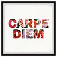 Marmont Hill Seize the Day 32-Inch Squared Framed Wall Art