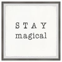 Marmont Hill Magical 18-Inch Squared Framed Wall Art