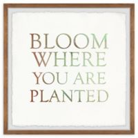 Marmont Hill Bloom Where You Are Planted II 32-Inch Squared Framed Wall Art