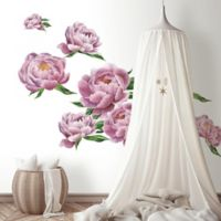 Roommates® Large Peony Giant Peel & Stick Wall Decal in Pink