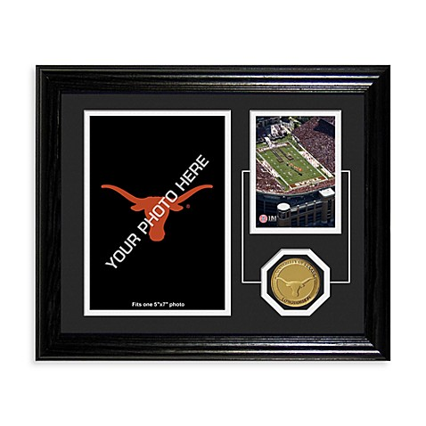 University of Texas Fan Memories Desktop Photo Mint Frame