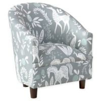 Skyline Furniture Ogle Kids Club Chair in Grey