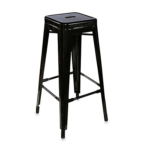 Industrial Metal Stools Bed Bath Amp Beyond