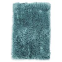 Nicole Miller Aspen 2' x 2'11 Accent Rug in Dusty Jade
