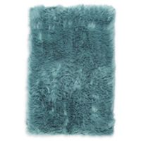 Nicole Miller Aspen 2'6 x 3'11 Accent Rug in Dusty Jade
