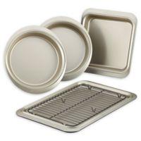 Anolon® Allure™ Nonstick 5-Piece Bakeware Set in Onyx/Pewter