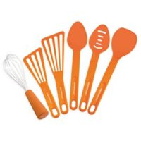 Rachael Ray™ 6-Piece Nylon Kitchen Utensil Set in Orange
