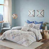 Urban Habitat Rochelle King/California King Reversible Comforter Set in Blue