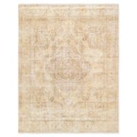 Pasargad Home™ Overdye 9'9 x 12'6 Hand-Knotted Area Rug in Beige