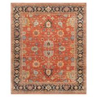 Pasargad Home™ Serapi 9'11 x 16' Hand-Knotted Area Rug in Rust