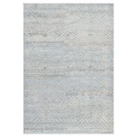 Pasargad Home™ Vogue 5'6 x 8' Hand-Knotted Area Rug in Light Blue