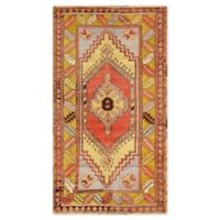 Pasargad Home™ One of a Kind Pasargad 3'7 x 6'9 Area Rug in Coral