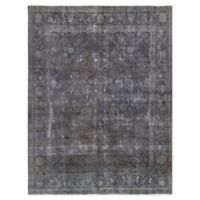 Pasargad Home™ Overdye 9'4 X 12'6 Hand-Knotted Area Rug in Grey