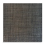 Bistro Woven Square Placemat in Pewter