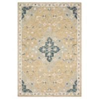 Magnolia Home by Joanna Gaines Ryeland 9'3 Round Handcrafted Area Rug in Wheat/Multicolor