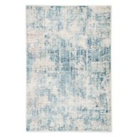 Jaipur Living Abstract 7'6 x 9'6 Area Rug in Blue/Ivory