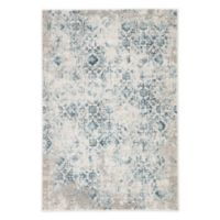 Jaipur Living Siena Damask 2' x 3' Accent Rug in Blue/Ivory